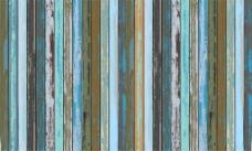 油漆剥落木板背景图片