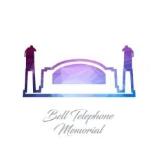 贝尔电话纪念馆,多边形