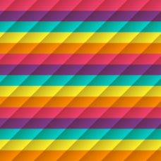 彩色线条排列装饰图案背景