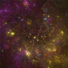 紫色的夜空背景图