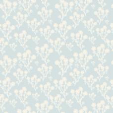 蓝色底纹春天小清新卡通花朵底纹