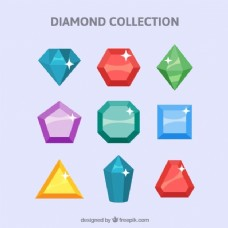 Coleccin de piedras preciosas华丽