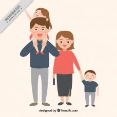 有孩子的家庭背景