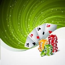 赌场背景设计