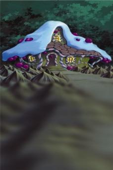 草地城堡H5背景