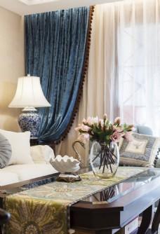 美式客厅简装效果图