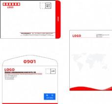 信封信纸模板