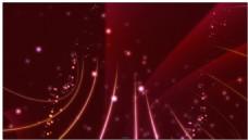 大量粒子光效组成的炫丽背景视频素材