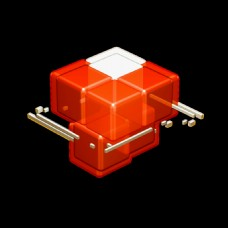 立方块视频背景