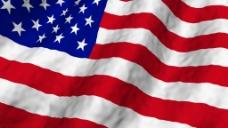 美国国旗飘动视频