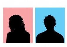 男性和女性图像