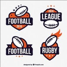 英式橄榄球联盟徽章