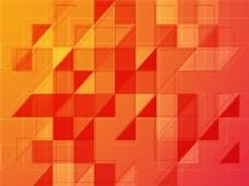 创造性的抽象几何图案或背景。