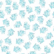 蓝枝图案设计