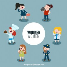说明工人的女人
