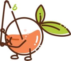 鲜果饮品图标设计