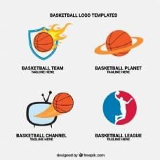 篮球电视频道标识
