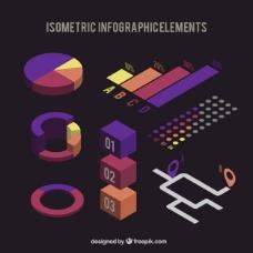 元素等距设置图表