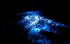 科技电路板背景图片
