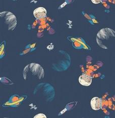 宇宙外星服装设计图案矢量素材