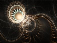 蒸汽朋克的谜语背景图