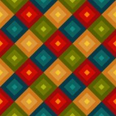 背景用彩色正方形
