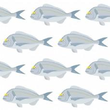 鱼的图案设计
