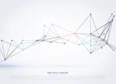 抽象背景与几何网格