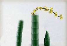 竹子花模型素材