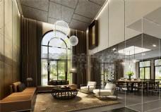 客厅3D模型1