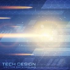 闪亮的技术背景