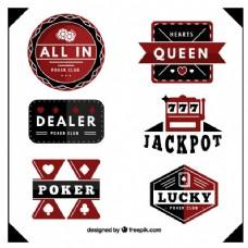 扑克俱乐部徽章