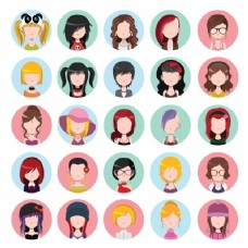 女性角色集合