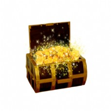 金币宝箱元素