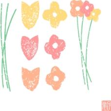 装饰卡通花朵设计素材合集