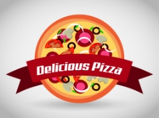 快餐披萨商标