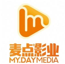 麦点影业logo