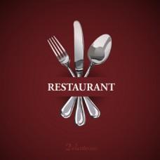 高端餐厅菜单Logo设计