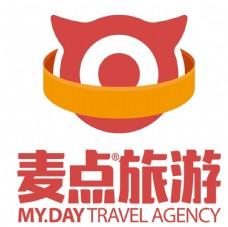 麦点旅游logo