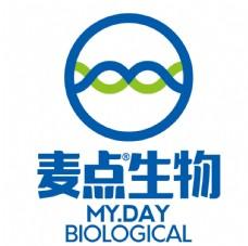 麦点生物logo