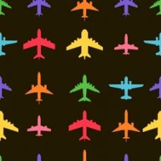 飞机广告背景