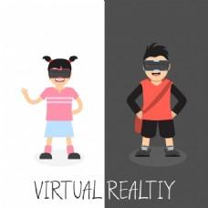 虚拟现实背景设计