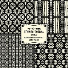 民族装饰花纹背景图片