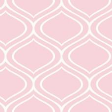 粉色手绘线条卡通矢量小清新背景纹理