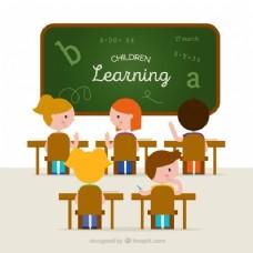 课堂背景与学生学习