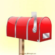 关闭红色邮箱背景
