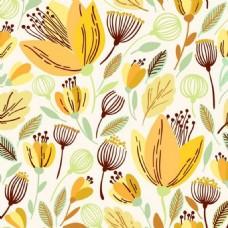 花朵花纹背景素材