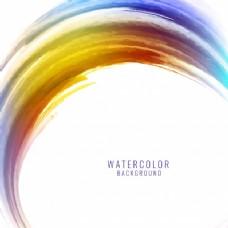 抽象水彩彩溅设计