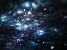 星夜散景背景图