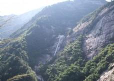 黄山瀑布风光